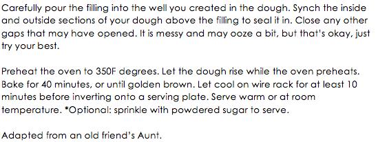 Brioche Bread with Custard Filling snippet 2