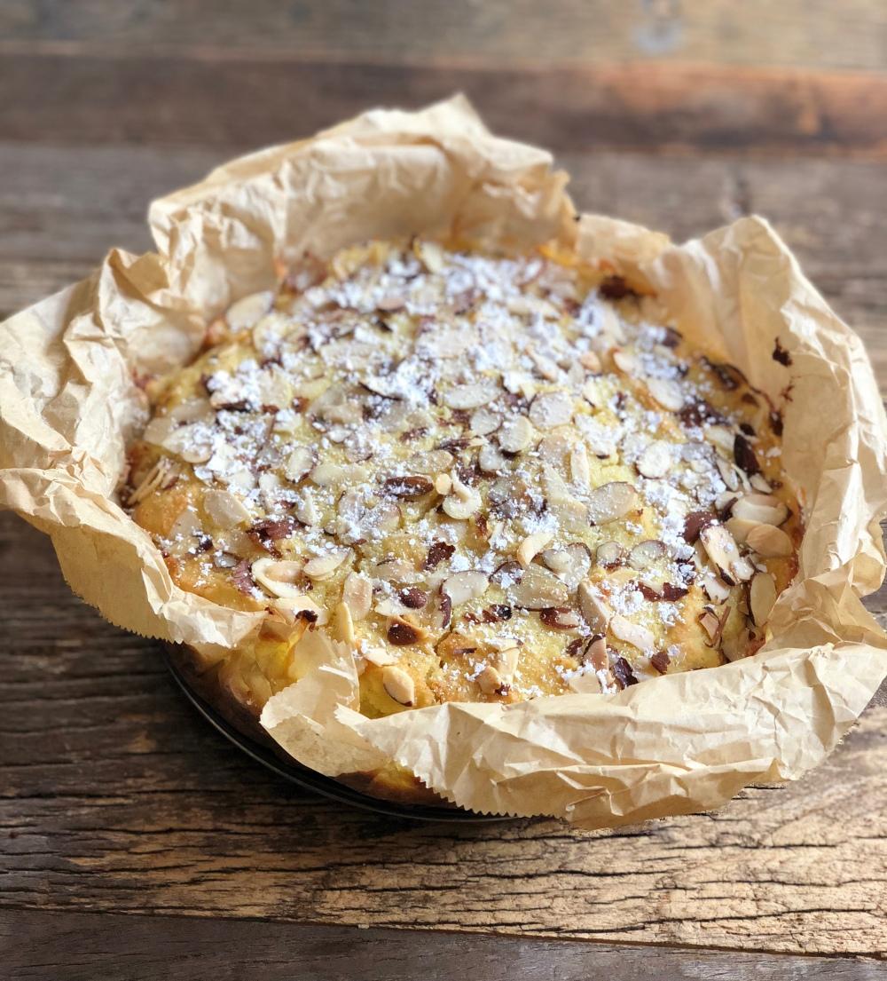 Lemon Ricotta Cake (GF)