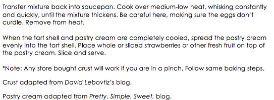 Strawberry Tart snippet 2
