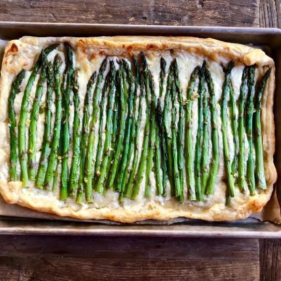 Asparagus Goat Cheese Tart