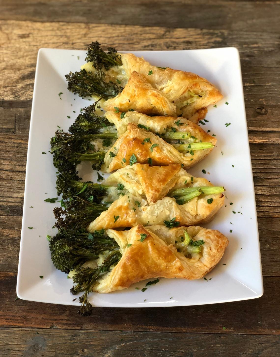 Broccolini in Puff Pastry