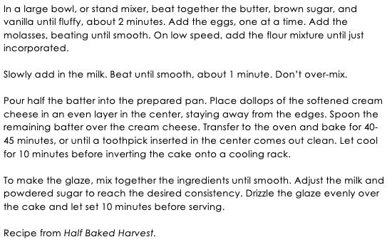 Gingerbread Chai Bundt Cake snippet 2